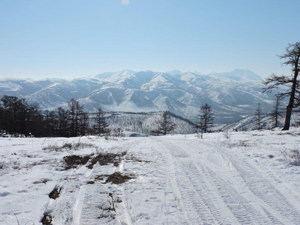 point de vue sur la boucle Voulcachiki