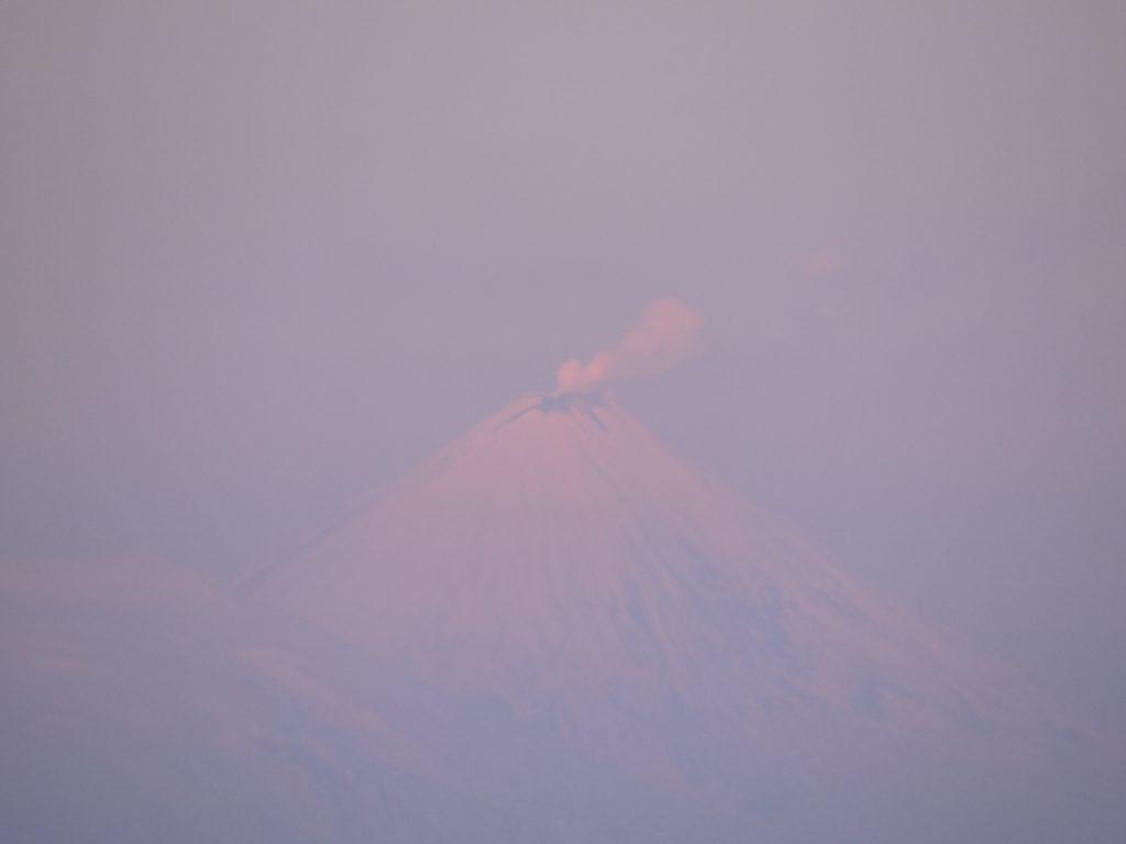 volcan le plus haut d'Eurasie, le Klioutchevskoy