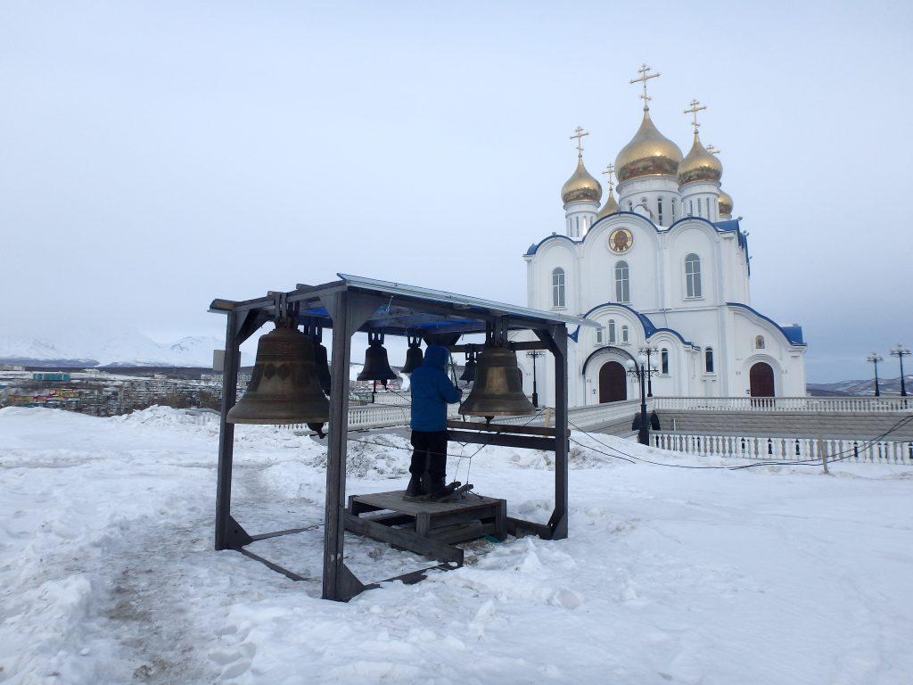 église orthodoxe de Petropavlovsk-kamtchatsky